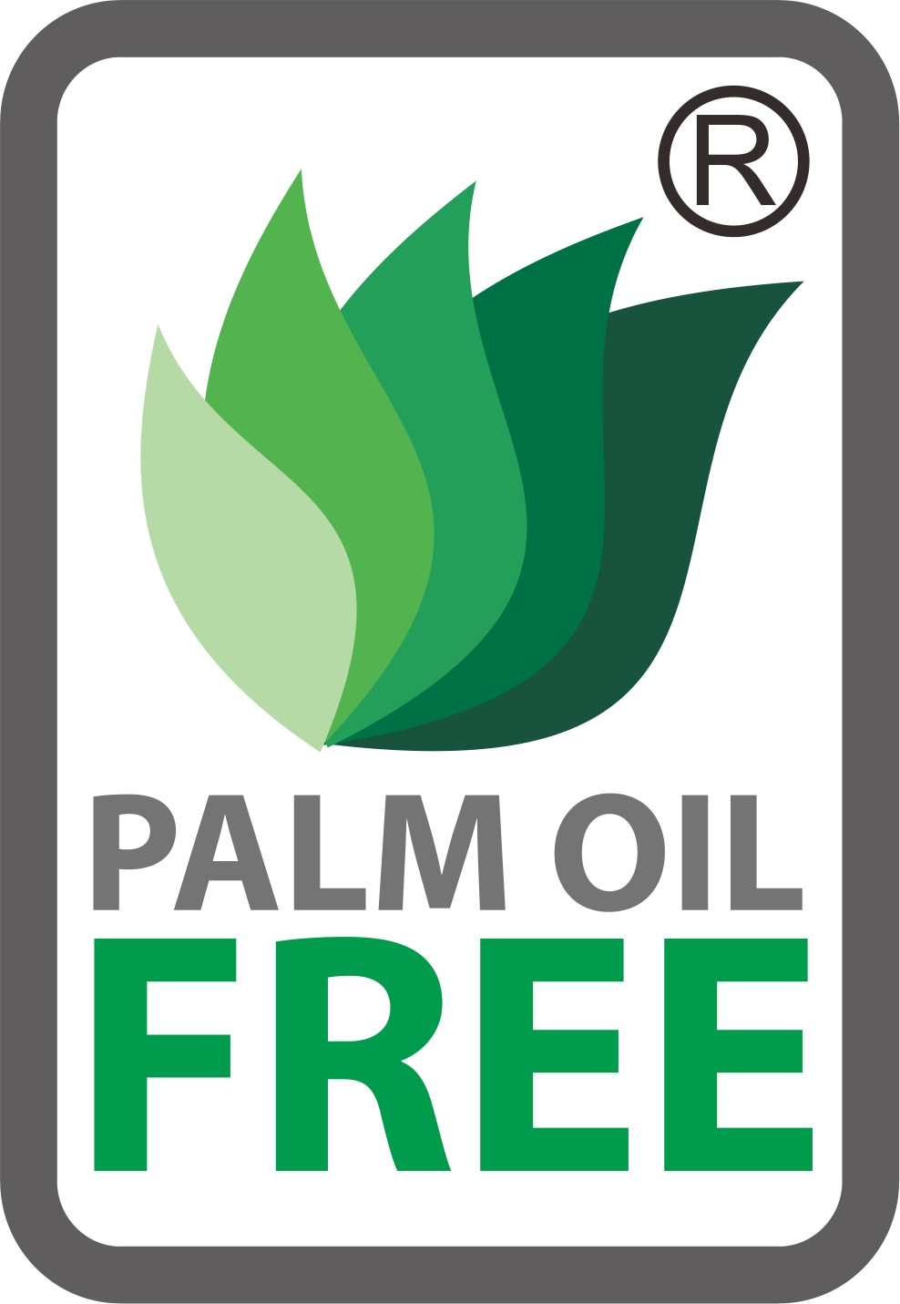 Palm Oil Free Logo colour